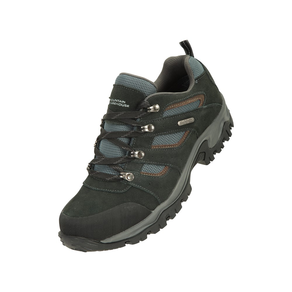 Mountain-Warehouse-Mens-Voyage-Waterproof-Walking-Shoes-Hiking-Trainers thumbnail 13
