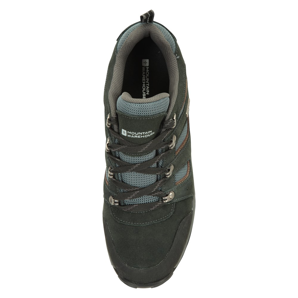 Mountain-Warehouse-Mens-Voyage-Waterproof-Walking-Shoes-Hiking-Trainers thumbnail 14