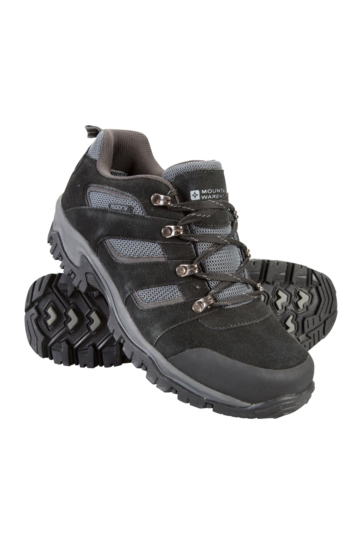 Voyage Waterproof Mens Shoes - Black