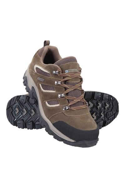 Voyage Waterproof Mens Shoes - Brown