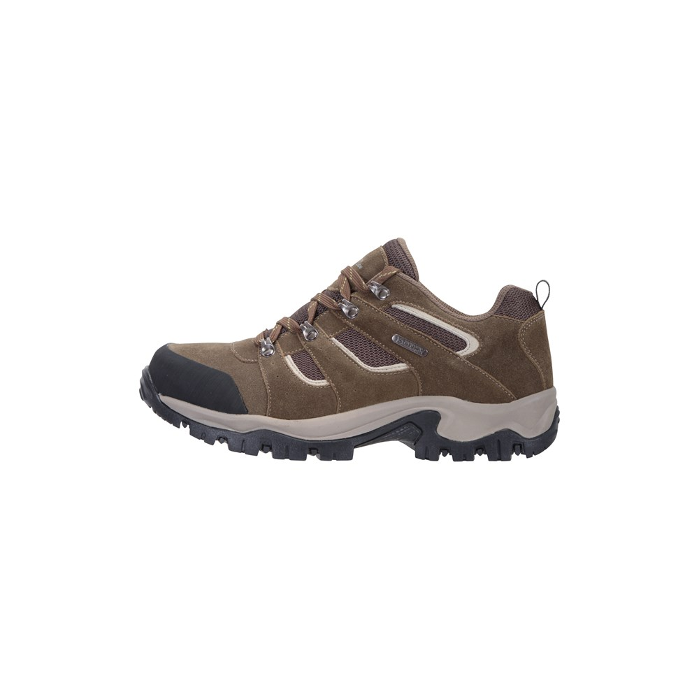 Mountain-Warehouse-Mens-Voyage-Waterproof-Walking-Shoes-Hiking-Trainers thumbnail 19