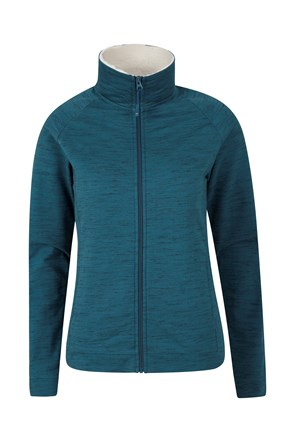 Chestnut Melange Womens Fleece