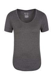 Elliptical Womens Round Neck T-Shirt