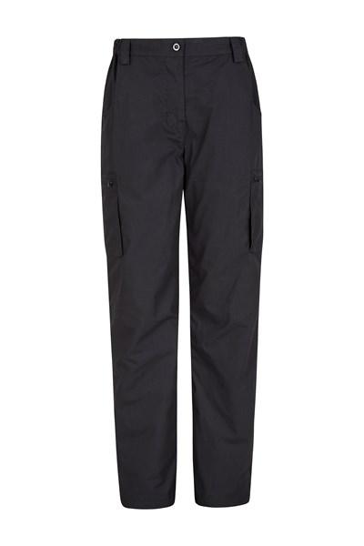 Winter Trek II Womens Short Length Trousers - Black