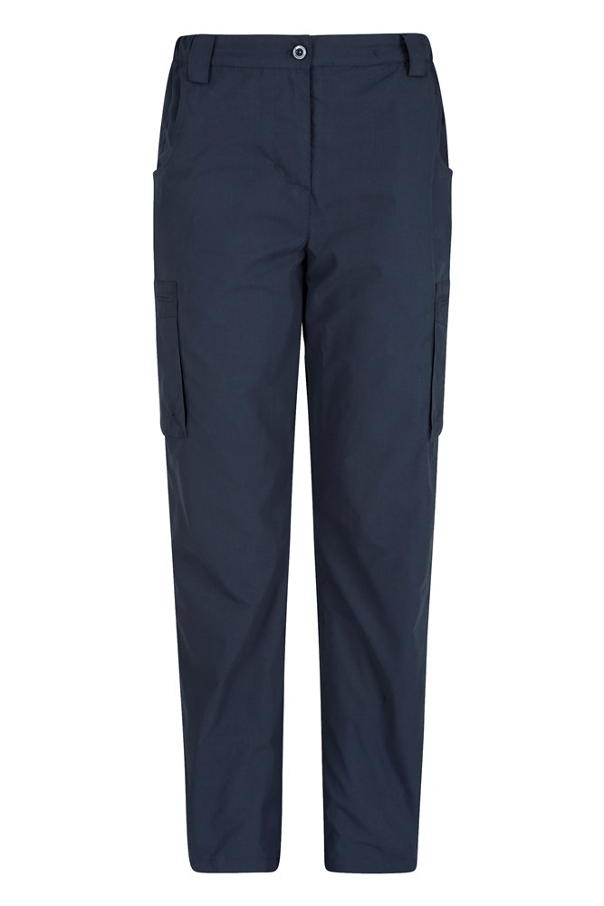 Winter Trek II Womens Short Length Trousers - Navy