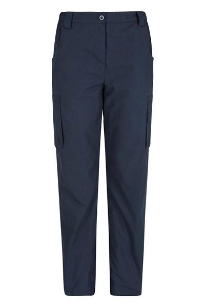 Winter Trek II Womens Short Length Trousers - Navy