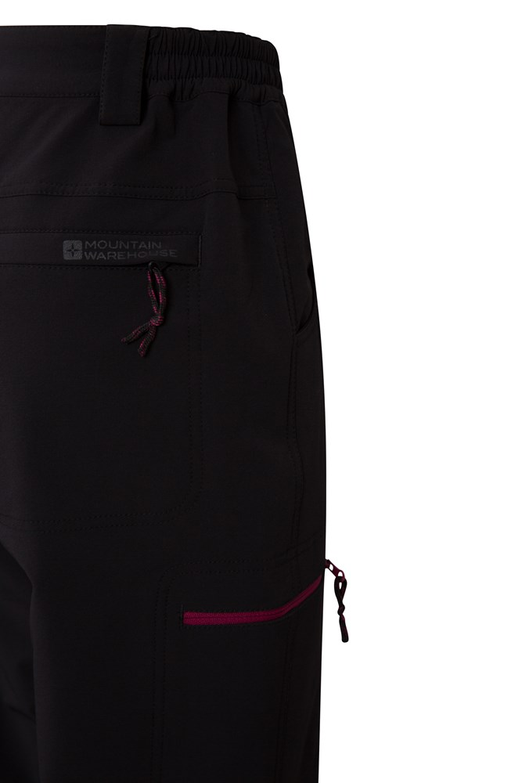 Mountain Warehouse Hike Warm Womens Short Trousers 4-Way-Stretch