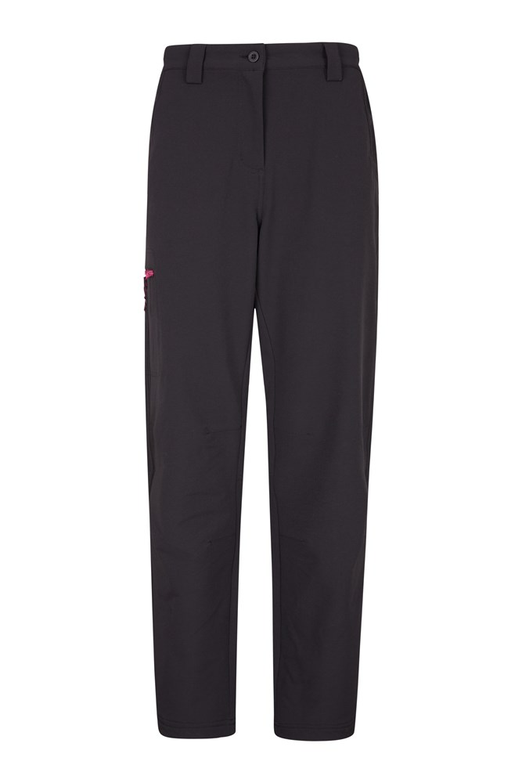 Hike 4 Way Warm Stretch - spodnie damskie - Black