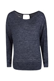 Navasana Womens Long Sleeved Top
