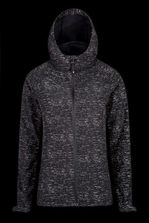 Flash Reflective Womens Running Jacket