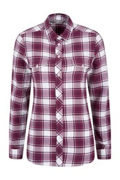 Beech Brushed Flannel Womens Shirt