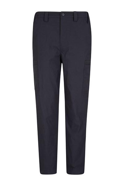 Winter Trek II Mens Short Length Trousers - Black