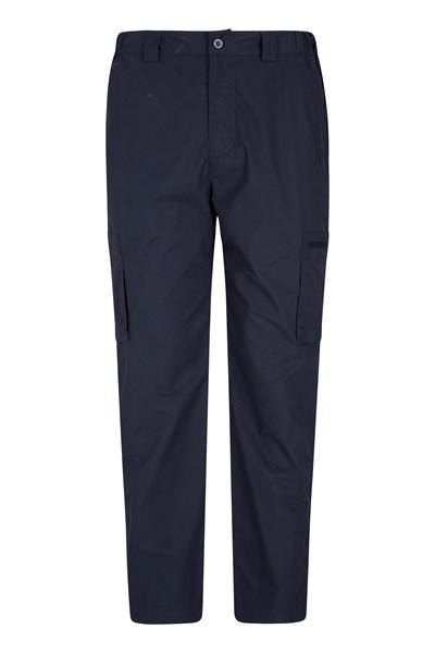Winter Trek II Mens Short Length Trousers - Navy