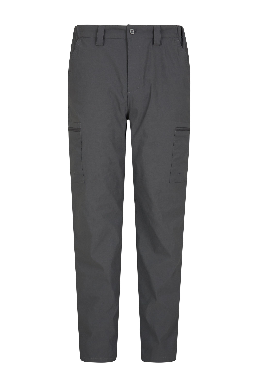 Mens Winter Trek Stretch Trousers - Grey
