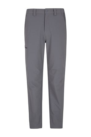 Hike 4-Way-Stretch Warm Mens Trousers - Short Length