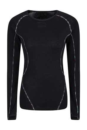 Elevate Womens Merino Baselayer Top