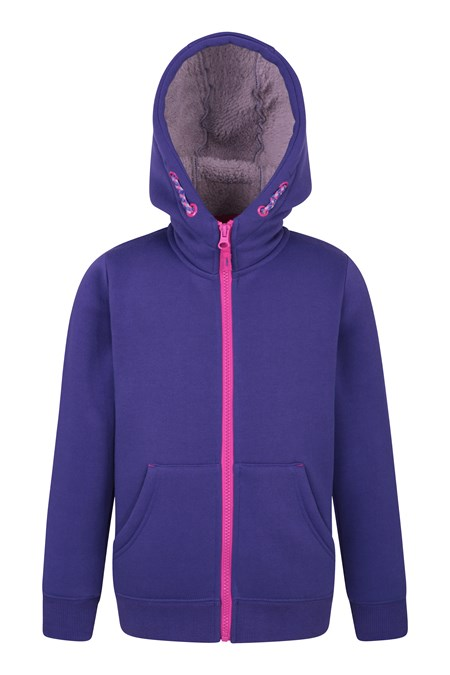 025503 ALPINE FUR LINED FULL ZIP HOODY