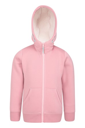 Alpine Fur Lined Kids Hoody