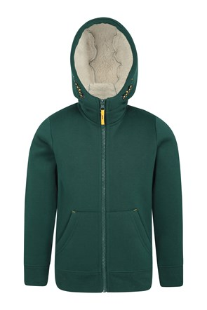Nordic Kids Fur Lined Full-Zip Hoody