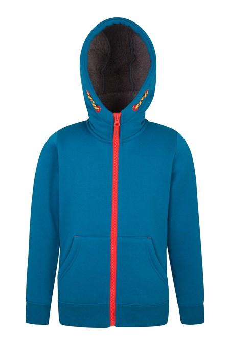 961c1d776a14 Nordic Kids Fur Lined Full-Zip Hoodie