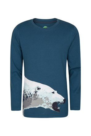 Steve Backshall Kids Polar Bear Tee