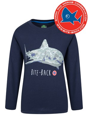 Steve Backshall Shark Kids Tee