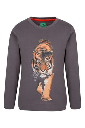 Steve Backshall Tiger Kids Tee