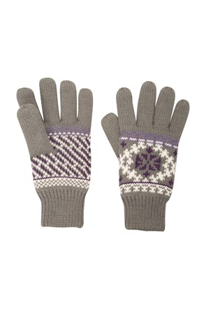 Kids Patterned Thinsulate™ Gloves