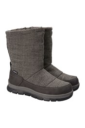 Chalet Womens Slip-On Snow Boots