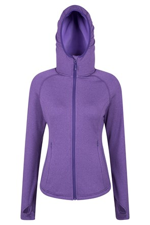 Excel Womens Hooded Midlayer