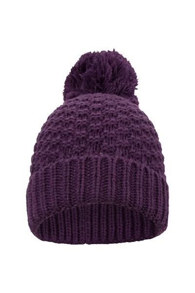 Oslo Womens Beanie - Purple