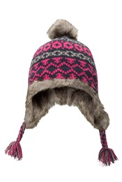 Criss Cross Jacquard Kids Hat