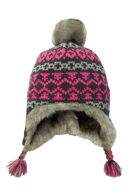 025548 CRISS CROSS JACQUARD KIDS HAT
