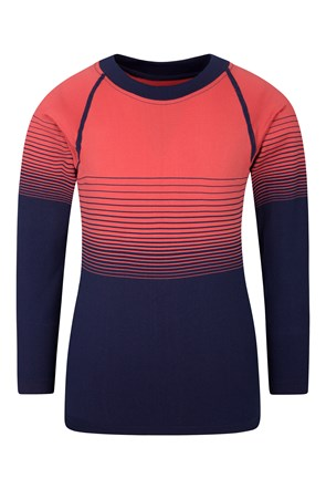 Seamless Youth Round Neck Top