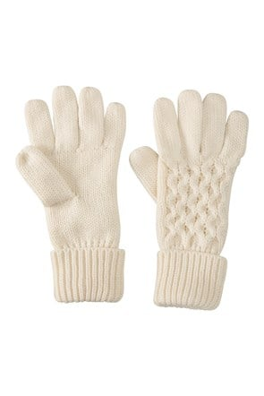 Alaska Knitted Womens Gloves
