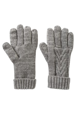 Thinsulate Cable Knit Womens Gloves