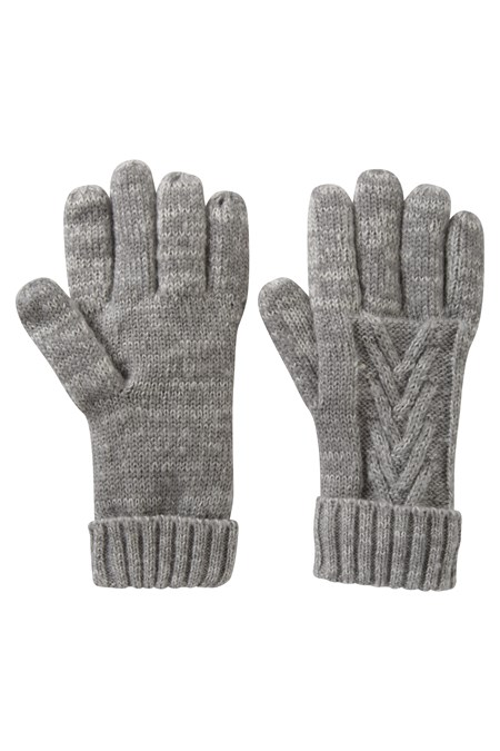 025567 THINSULATE CABLE WOMENS KNITTED GLOVE