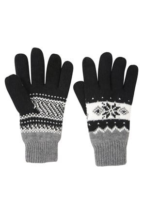 Thinsulate Fairisle Womens Gloves