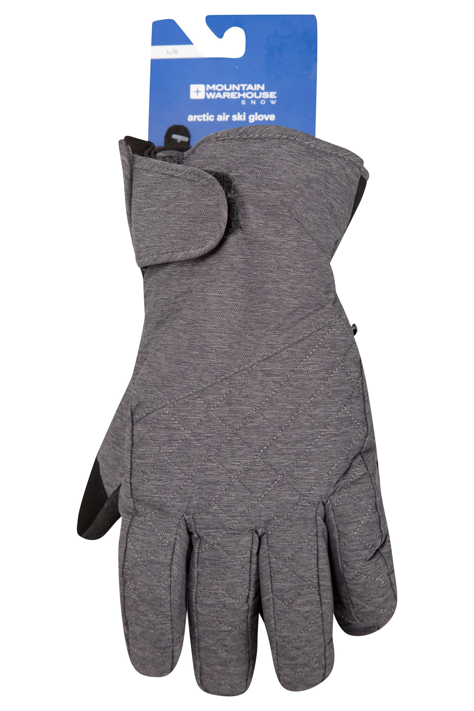Arctic Air Womens Ski Gloves - Grey