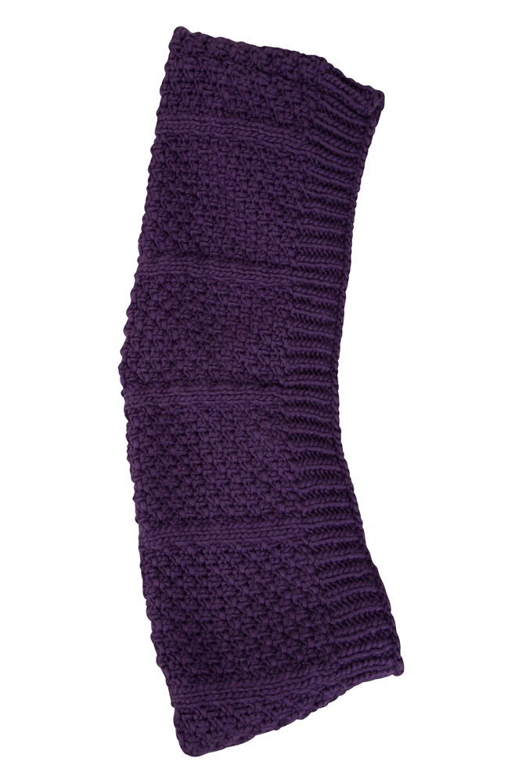 025581 pur alaska knitted womens snood wms aw18 1