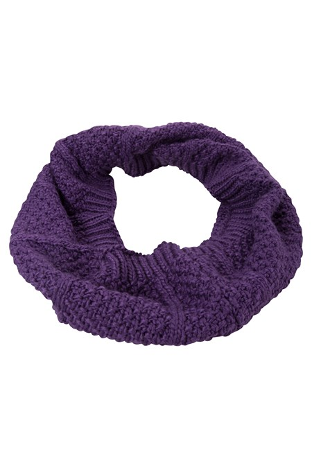 025581 ALASKA KNITTED WOMENS SNOOD