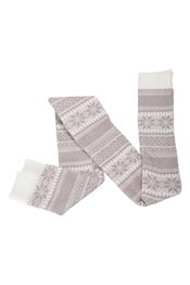 Fairisle Womens Scarf