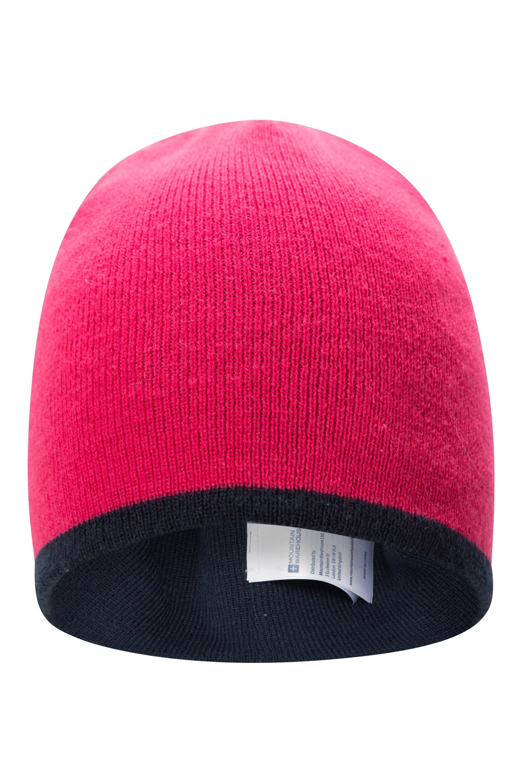 Warme Mütze Mountain Warehouse Colour-Block reflektierende Kinder-Strickmütze