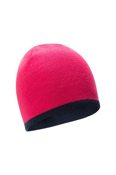 Chamoix II Reversible Kids Beanie - Pink