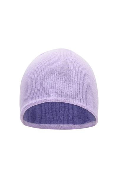 Chamoix II Reversible Kids Beanie - Purple