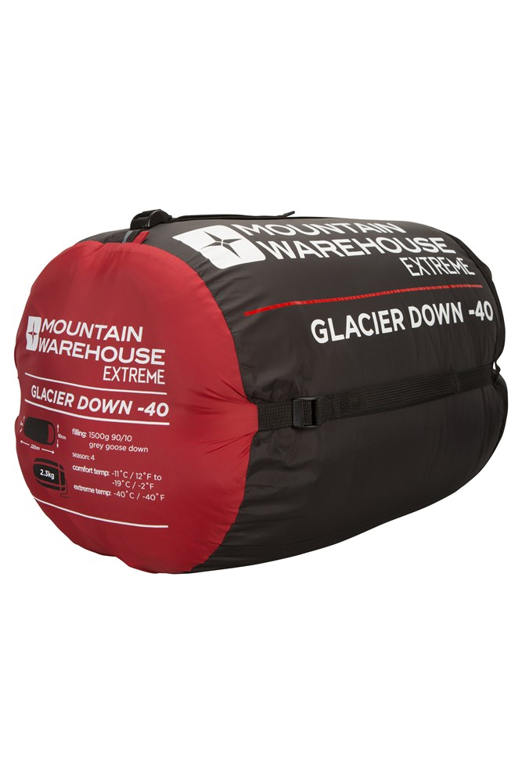 Extreme Glacier Goose Down Sleeping Bag