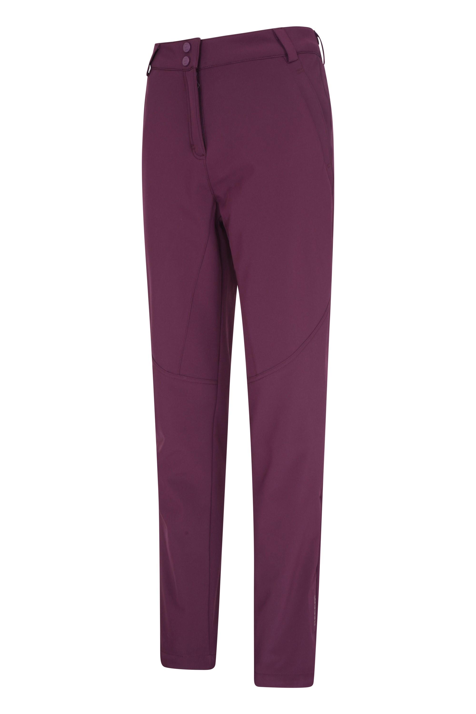 Mountain Warehouse Pantalon de Ski Femmes Moon Bretelles d/étachables D/éperlant Taille r/églable Poches Hiver Id/éal pour Le Ski