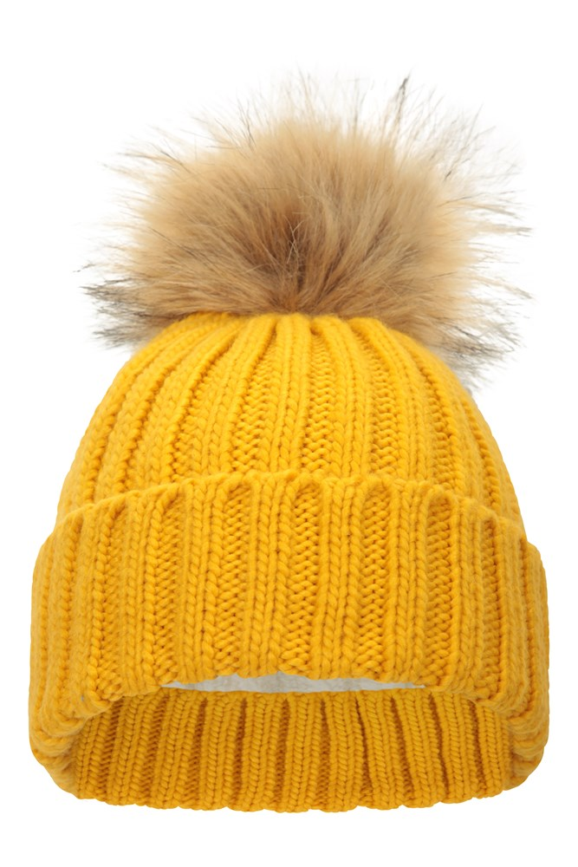 Mountain Warehouse Wms Thinsulate Fairisle Womens Pom Beanie Winter Hat
