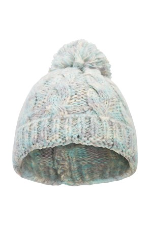 Swiss Womens Cable Beanie