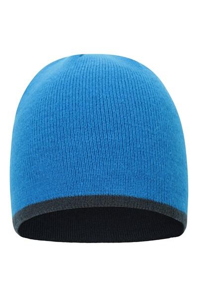St Anton Mens Beanie - Blue